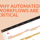 Why Automated Workflows Are Critical